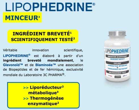 Qu'est-ce que Lipophedrine et Comment Cela Fonctionne