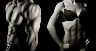 Bodybuilder homme femme