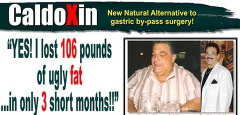 Caldoxin est une pilule de régime